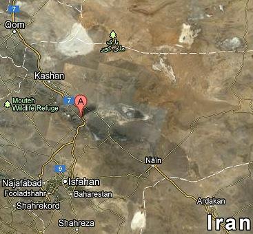 Qom-Natanz-Esfahan